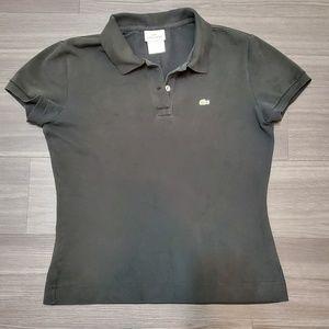 Lacoste Black Short Sleeve Polo Shirt